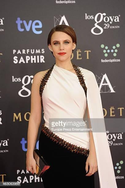 Aura Garrido attends Goya Cinema Awards 2015 at Centro de Congresos Principe Felipe on February 7 2015 in Madrid Spain