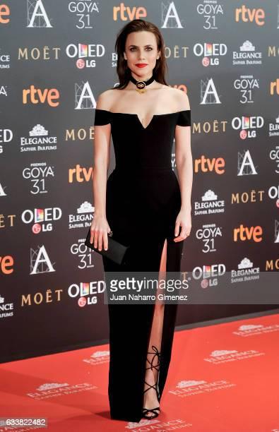 Aura Garrido attends Goya Cinema Awards 2017 at Madrid Marriott Auditorium on February 4 2017 in Madrid Spain