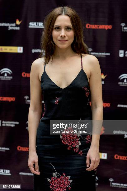 Aura Garrido attends photocall during the 20th Malaga Film Festival 2017 at UMA Rectorado on March 18 2017 in Malaga Spain