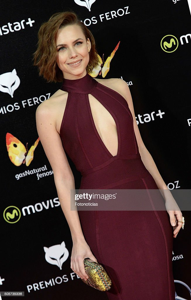 Aura Garrido attends the 2016 Feroz Cinema Awards at the Gran Teatro Principe Pio on January 19 2016 in Madrid Spain