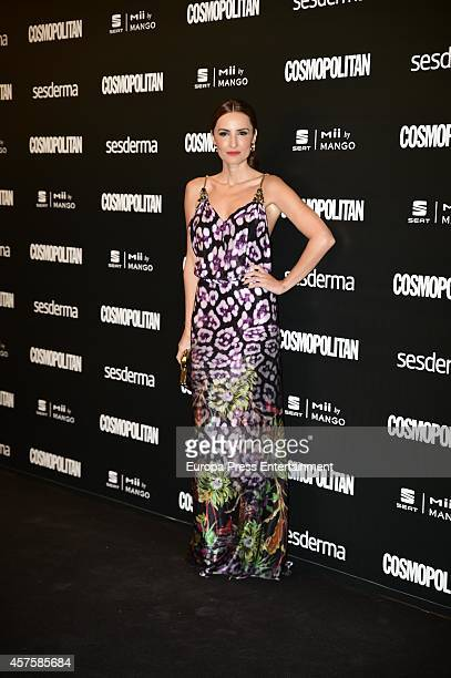 Aura Garrido attends the 7th annual Cosmopolitan Fun Fearless Female Awards on October 20 2014 in Madrid Spain