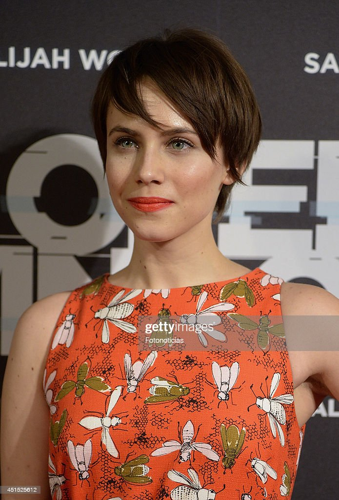 Aura Garrido attends the 'Open Windows' premiere at Capitol cinema on June 30 2014 in Madrid Spain