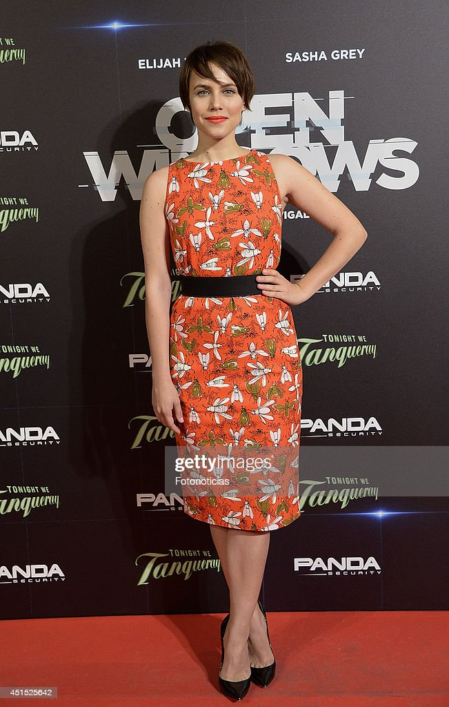 <a gi-track='captionPersonalityLinkClicked' href=/galleries/search?phrase=Aura+Garrido&family=editorial&specificpeople=6914215 ng-click='$event.stopPropagation()'>Aura Garrido</a> attends the 'Open Windows' premiere at Capitol cinema on June 30, 2014 in Madrid, Spain.