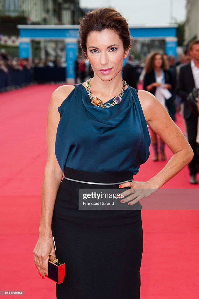 Aure Atika arrives for the premiere of the film 'The Bourne Legacy' during 38th Deauville American Film Festival on September 1, 2012 in Deauville, France.