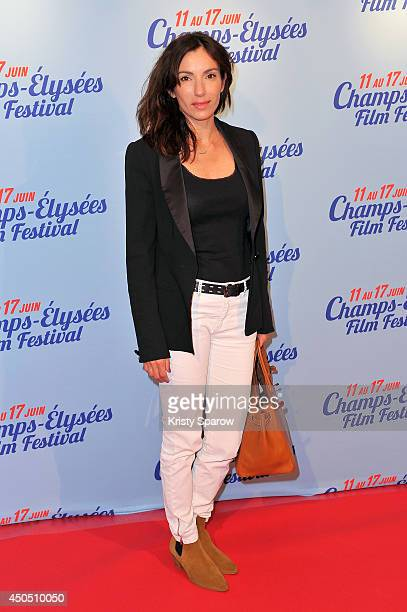 Aure Atika attends the Hippocrate Paris Premiere during Day 2 of the Champs Elysees Film Festival on June 12 2014 in Paris France