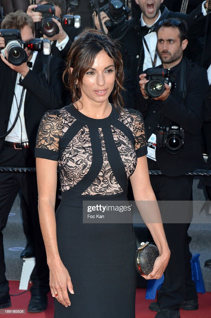 Aure Atika attends the Premiere of 'Blood Ties' during the 66th Annual Cannes Film Festival at the Palais des Festivals on May 20, 2013 in Cannes, France.