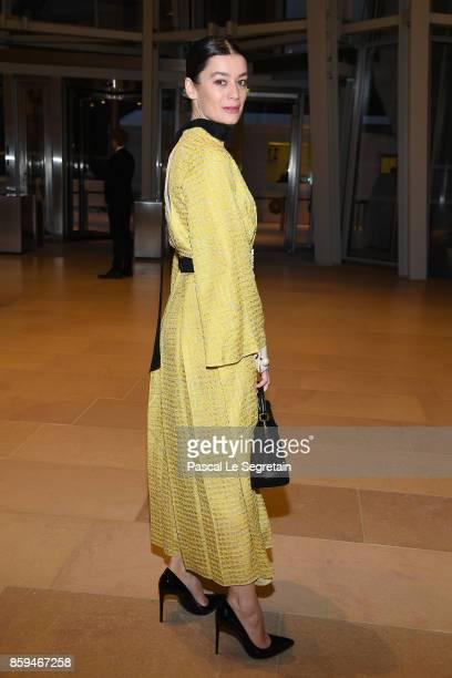 Aurelie Dupont attends'Etre Moderne Le MoMA A Paris' Exhibition at Fondation Louis Vuitton on October 9 2017 in Paris France