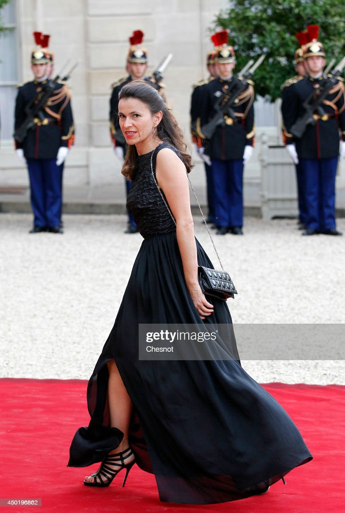 <a gi-track='captionPersonalityLinkClicked' href=/galleries/search?phrase=Aurelie+Filippetti&family=editorial&specificpeople=4273748 ng-click='$event.stopPropagation()'>Aurelie Filippetti</a> arrives at the Elysee Palace for a State dinner in honor of Queen Elizabeth II, hosted by French President Francois Hollande as part of a three days State visit of Queen Elizabeth II after the 70th Anniversary Of The D-Day on June 6, 2014 in Paris, France.