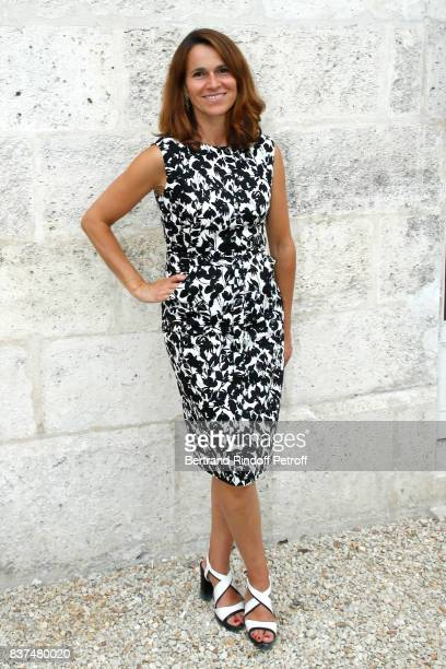 Aurelie Filippetti attends the 10th Angouleme FrenchSpeaking Film Festival Day One on August 22 2017 in Angouleme France