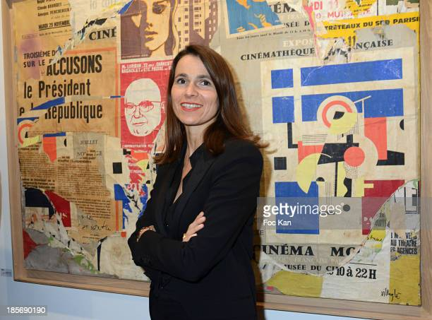 Aurelie Filippetti attends the 40th FIAC Exbibition Preview At Le Grand Palais on October 23 2013 in Paris France