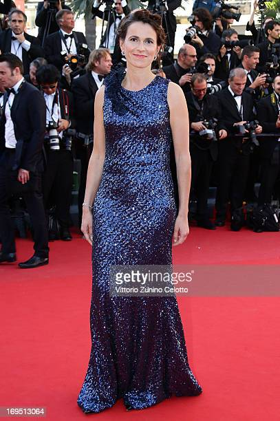 Aurelie Filippetti attends the 'Zulu' Premiere and Closing Ceremony during the 66th Annual Cannes Film Festival at the Palais des Festivals on May 26...