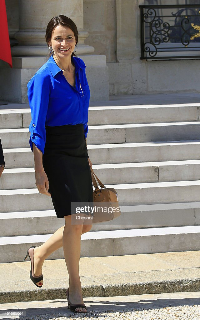 <a gi-track='captionPersonalityLinkClicked' href=/galleries/search?phrase=Aurelie+Filippetti&family=editorial&specificpeople=4273748 ng-click='$event.stopPropagation()'>Aurelie Filippetti</a>, French Minister of Culture and Communication leaves after a weekly cabinet meeting at the Elysee Palace on July 2, 2014 in Paris, France.