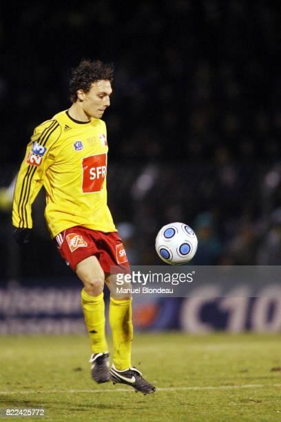 Aurelien BADIN Rodez / PSG 8eme de Finale de la Coupe de France 2008/2009