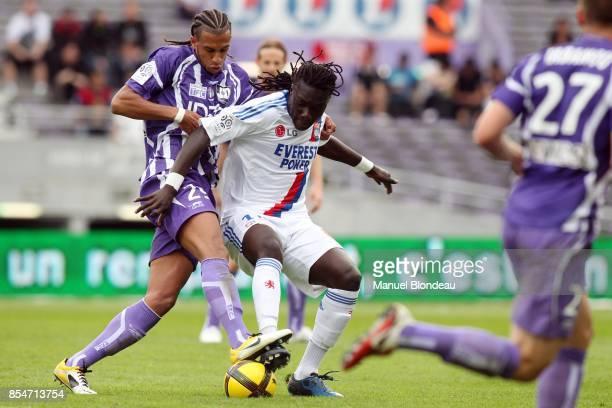 Aurelien Capoue / Bafetimbi Gomis Toulouse / Lyon 33eme journee de Ligue 1