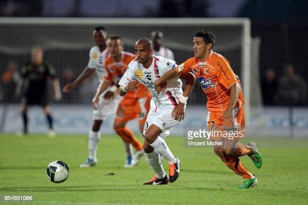 Aurelien CAPOUE / Gaetan BELAUD LAval / Boulogne 3e journee Ligue 2