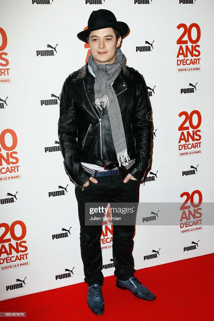 Aurelien Wiik attends '20 Ans D'Ecart' Premiere at Gaumont Capucines on March 5, 2013 in Paris, France.
