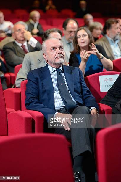Aurelio De Laurentiis at Festival del Cinema of Rome at Auditorium Parco della Musica in Rome on October 20 2015