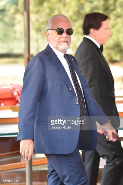 Aurelio De Laurentiis is seen during the 74 Venice Film Festival on August 30 2017 in Venice Italy