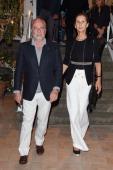 Aurelio De Laurentis and Jaqueline De Laurentis attend Day 2 of the Ischia Global Film Music 2014 on July 13 2014 in Ischia Italy