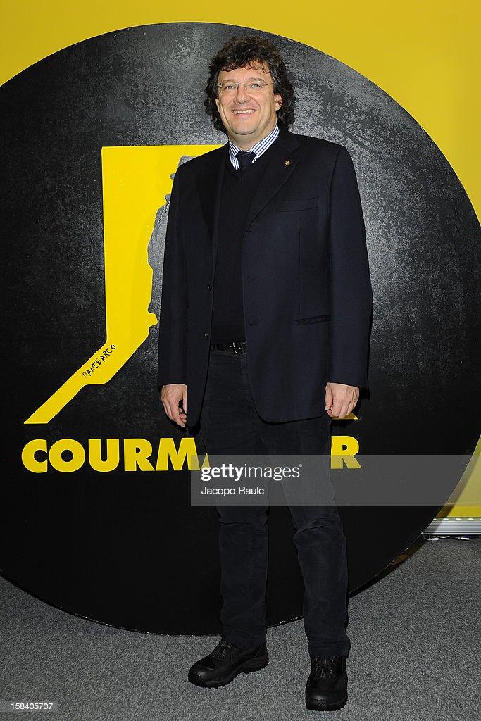 Aurelio Marguerettaz attends the 22th Courmayeur Noir In Festival on December 15, 2012 in Courmayeur, Italy.