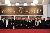 Aurélie Filippetti and Film directors at the premiere for 'Amour' during the 65th Cannes International Film Festival