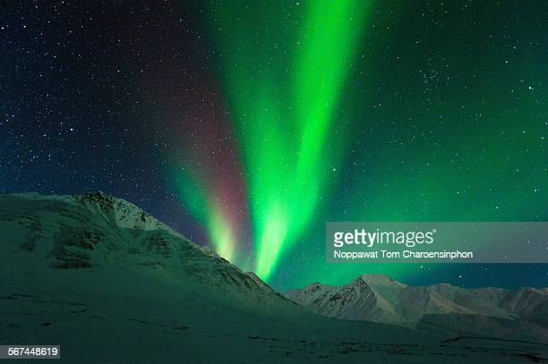 Aurora above Alaska