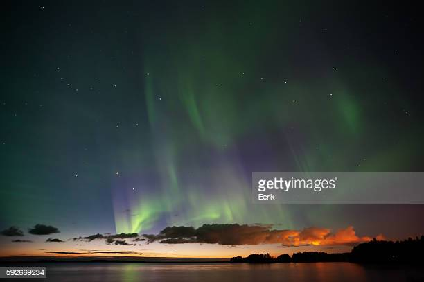 Aurora Borealis, Big Dipper and Bootes