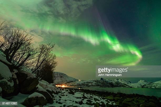 Aurora borealis in Troms