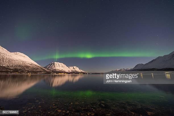 Aurora borealis in Ullsfjord