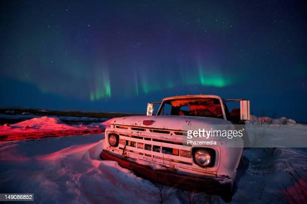 Aurora Borealis Night Sky