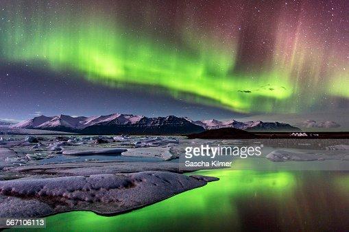 Aurora Borealis on Iceland