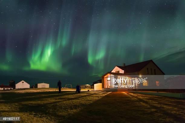 CONTENT] Aurora Borealis over Iceland
