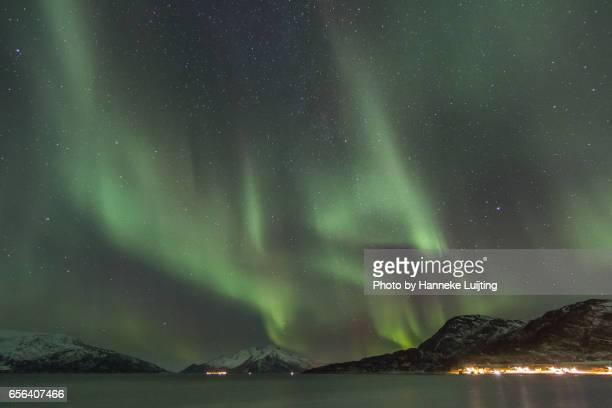 Aurora Borealis over Skulsfjord