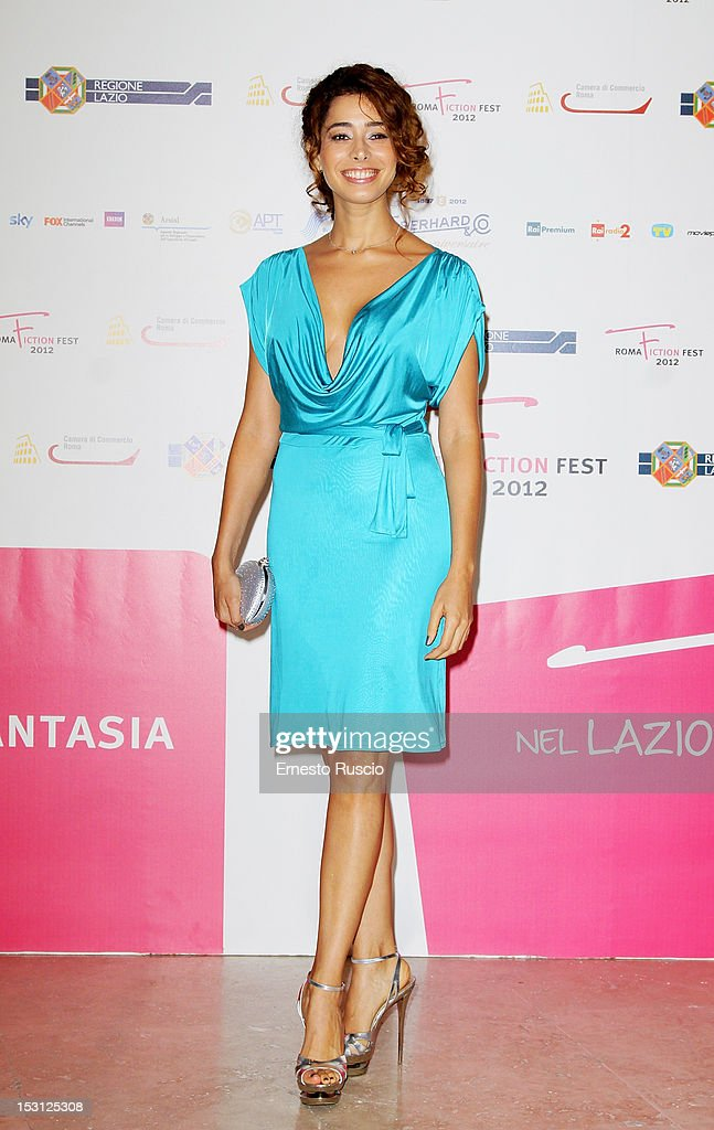 Aurora Cossio attends the ' RomaFictionFest 2012 - Opening Ceremony' at Auditorium Parco Della Musica on September 30, 2012 in Rome, Italy.