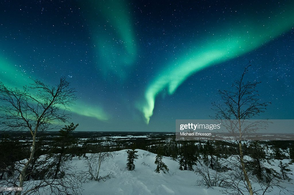 Aurora from Ranney hill : Stock Photo