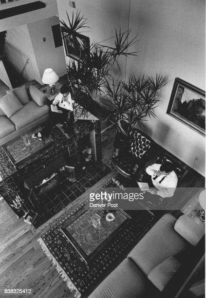 Aurora Mayor Dennis Champine in the living room of his 1500 square foot Condominium next to Meadow Hills Golf Course Credit The Denver Post