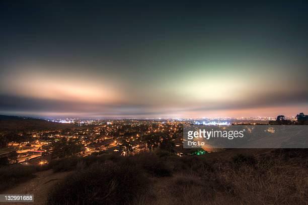 Aurora over Orange County