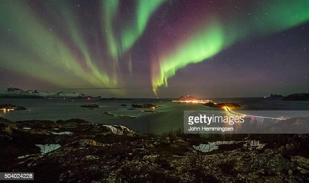 aurora over Sommarøy