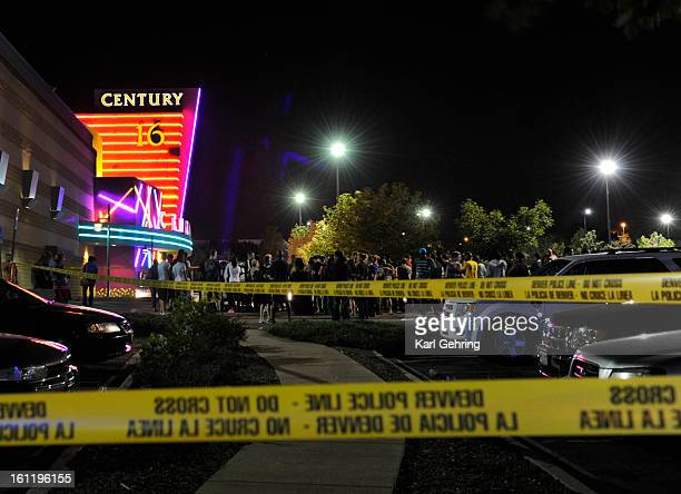Aurora Police responded to the Century 16 movie theatre early Friday morning July 20 2012 Scanner traffic indicates that dozens of people were hurt...
