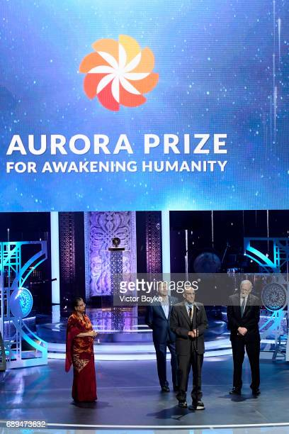 Aurora Prize Laureate Dr Tom Catena President Emeritus of the International Crisis Group Former Foreign Minister of Australia and Aurora Prize...