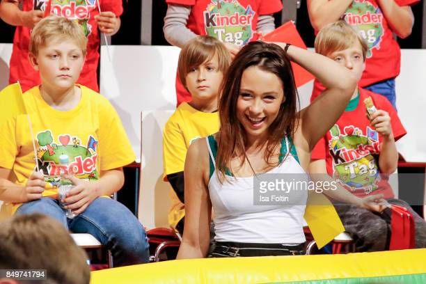 Aurora Ramazzotti during the KinderTag to celebrate children's day on September 19 2017 in Berlin Germany