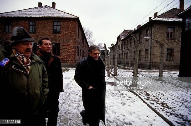 Auschwitz Francois Bayrou C Lanzmann J Kahn On December 3rd1993