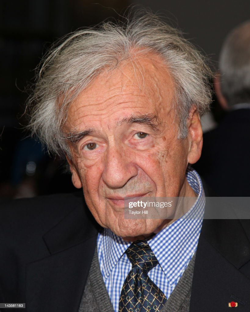 Auschwitz survivor and Nobel Laureate Elie Wiesel attends the 'Follow Me The Yoni Netanyahu Story' screening at The Museum of Modern Art on April 29, 2012 in New York City.
