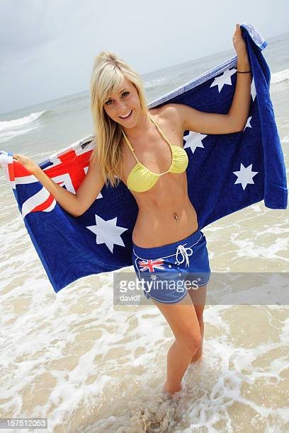 Aussie Beach Girl