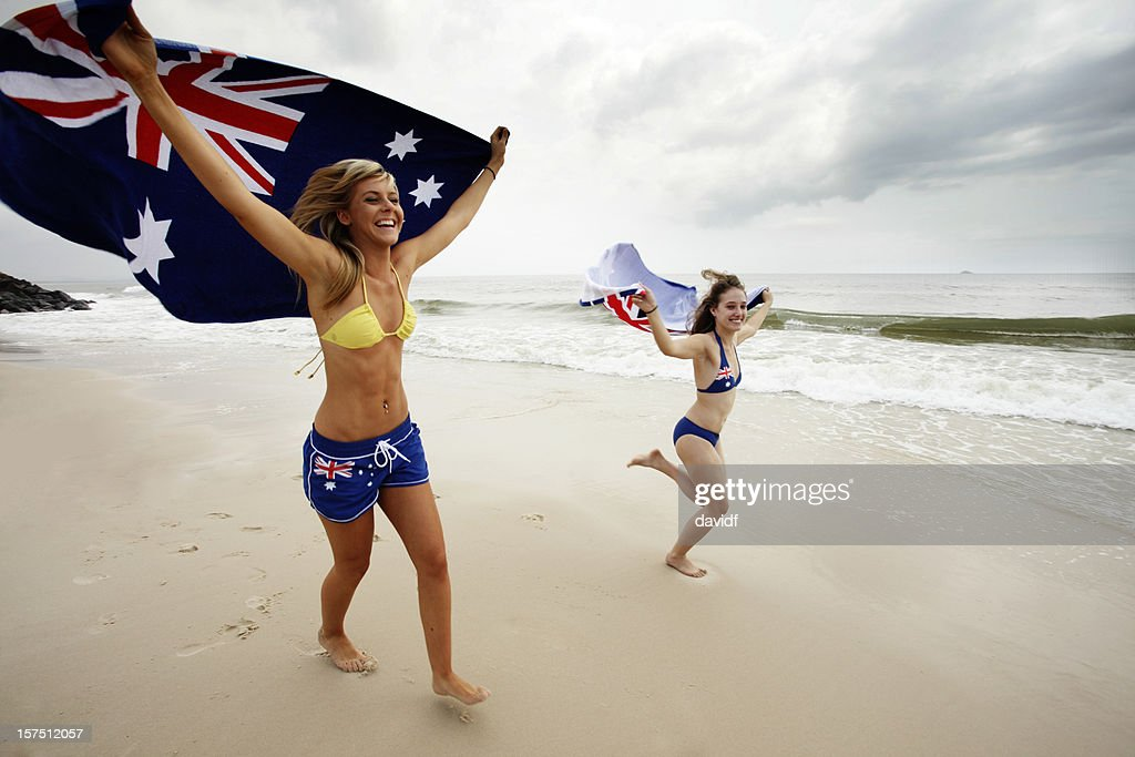 Think, Toppless aussie young beach babes