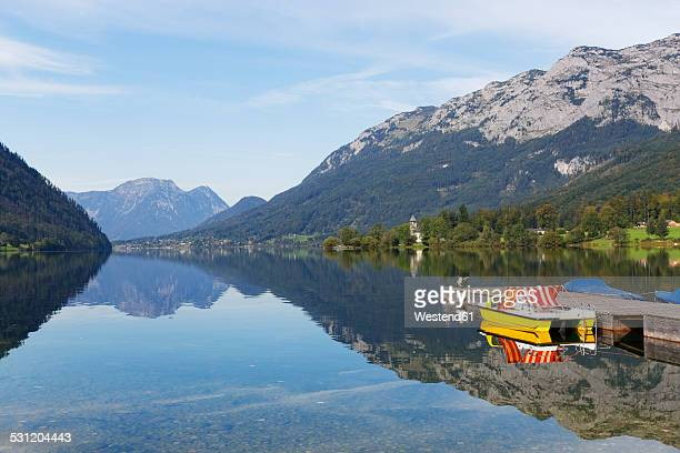 Austia, Styria, Salzkammergut, Lake Grundlsee in Goessl