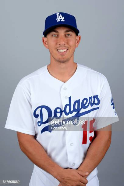 Austin Barnes of the Los Angeles Dodgers poses during Photo Day on Friday February 24 2017 at Camelback Ranch in Glendale Arizona