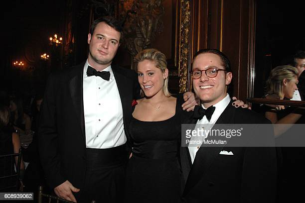 Austin Bryan Meghan Horstmann and Alex Budney attend GROSVENOR BALL Welcomes You To The HONORING of Dr HARRY RAFTOPOULOS AND AMELIA PROUNIS...