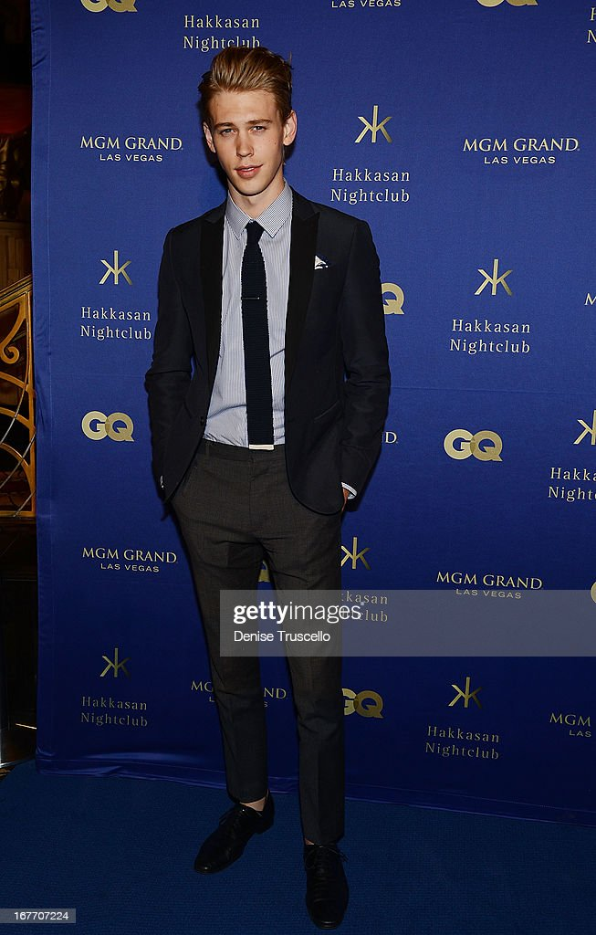 <a gi-track='captionPersonalityLinkClicked' href=/galleries/search?phrase=Austin+Butler&family=editorial&specificpeople=5626394 ng-click='$event.stopPropagation()'>Austin Butler</a> arrives at the grand opening of Hakkasan Nightclub at the MGM Grand on April 27, 2013 in Las Vegas, Nevada.