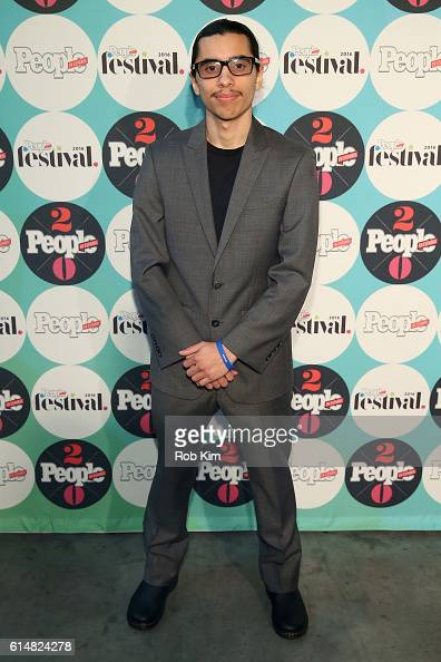 Austin Cabrera recipient of $5000 college Scholarship attends the 5th Annual Festival PEOPLE En Espanol Day 1 at the Jacob Javitz Center on October...